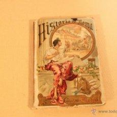 Alte Bücher - HISTORIA DE ROMA. - ED-S.CALLEJA- . MADRID.- - 40165484