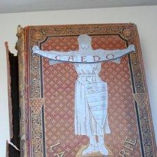 Libros antiguos: 1883.- EL CREDO DE LA CABALLERÍA. LEON GAURNIER. OBRA MONUMENTAL. Lote 40334092