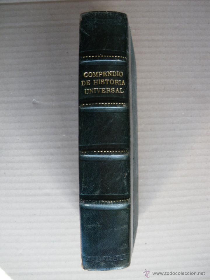 COMPENDIO DE HISTORIA UNIVERSAL. C. PEREZ BUSTAMANTE. BUENA ENCUADERNACIÓN. (Libros antiguos (hasta 1936), raros y curiosos - Historia Antigua)