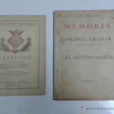 Libros antiguos: LIBROS ANTIGUOS GIRONA GERONA. Lote 40889325