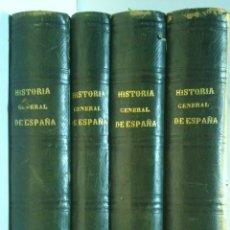 Libros antiguos: HISTORIA GENERAL DE ESPAÑA Y DE SUS POSESIONES DE ULTRAMAR. 5 TOMOS EN 4 VOLUMENES. AÑO1873.VER. Lote 41336667