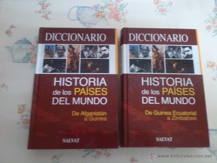 DOS LIBROS DICCIONARIO HISTORIA DEL MUNDO (Libros antiguos (hasta 1936), raros y curiosos - Historia Antigua)