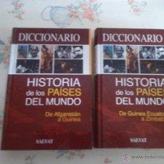 Libros antiguos: DOS LIBROS DICCIONARIO HISTORIA DEL MUNDO. Lote 41579675