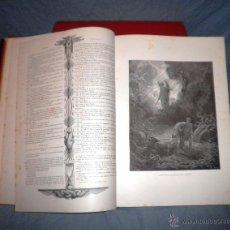 Libros antiguos: LA SAGRADA BIBLIA - D.F.TORRES AMAT - AÑO 1883 - ESPECTACULAR EDICION ILUSTRADA POR GUSTAVO DORÉ.. Lote 42219903