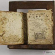 Libros antiguos: D-272.MONARCHIA HEBREA. VICENTE BACALLAR. IMP. GABRIEL RAMIREZ. 1749. . Lote 42276654