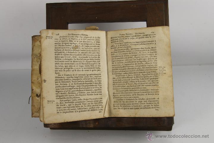 Libros antiguos: D-272.MONARCHIA HEBREA. VICENTE BACALLAR. IMP. GABRIEL RAMIREZ. 1749. - Foto 2 - 42276654