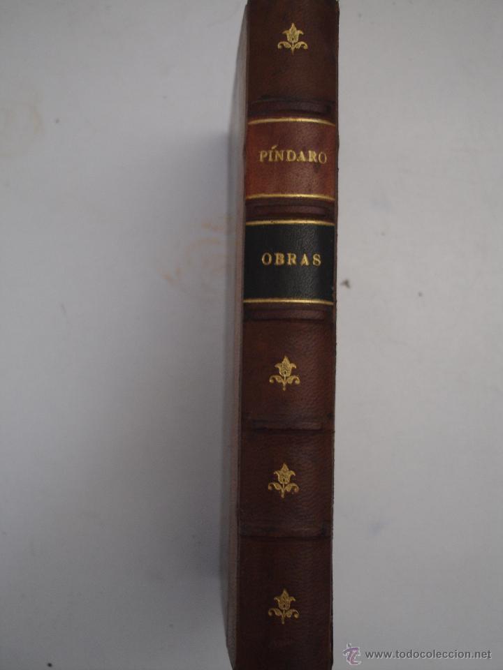OBRAS COMPLETAS DE PÍNDARO -PARIS 1921- (Libros antiguos (hasta 1936), raros y curiosos - Historia Antigua)