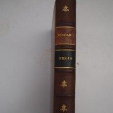 Libros antiguos: OBRAS COMPLETAS DE PÍNDARO -PARIS 1921-. Lote 42449417
