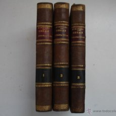 Libros antiguos: OBRAS DRAMÁTICAS DE EURÍPIDES- MADRID 1909-TRES TOMOS.. Lote 42557462