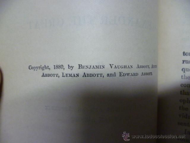 Libros antiguos: Cyrus and Alexander - ABBOTT - 1880 - preciosos grabados.(en ingles - ver fotos) - Foto 4 - 42680815