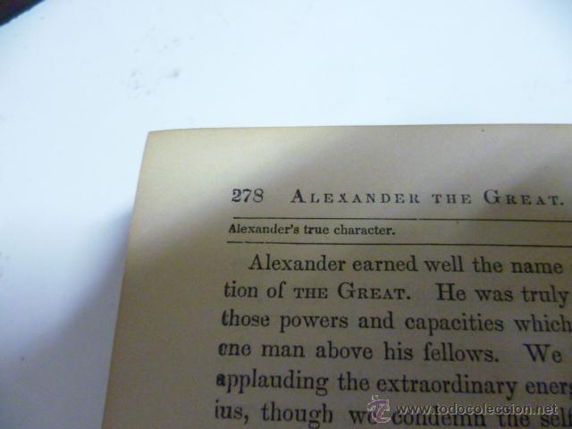 Libros antiguos: Cyrus and Alexander - ABBOTT - 1880 - preciosos grabados.(en ingles - ver fotos) - Foto 10 - 42680815