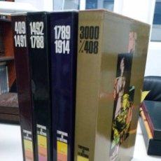 Libros antiguos: TEMPORAMA DE LA HISTORIA.4 TOMOS DIFUSORA INTERNACIONAL. Lote 42806083