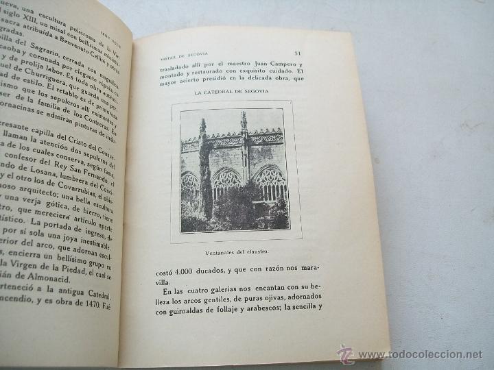 Libros antiguos: VISTAS DE SEGOVIA, APUNTES E IMPRESIONES DE VIAJE-LEÓN ROCH-MADRID, MCMXXI - Foto 4 - 42829502