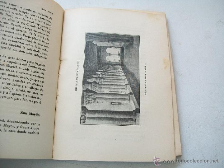 Libros antiguos: VISTAS DE SEGOVIA, APUNTES E IMPRESIONES DE VIAJE-LEÓN ROCH-MADRID, MCMXXI - Foto 5 - 42829502
