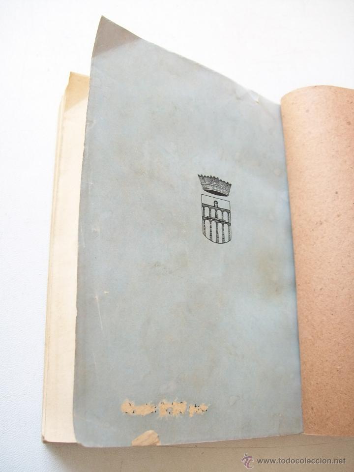 Libros antiguos: VISTAS DE SEGOVIA, APUNTES E IMPRESIONES DE VIAJE-LEÓN ROCH-MADRID, MCMXXI - Foto 9 - 42829502