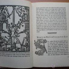 Libros antiguos: GESTA ROMANORUM, LIBRO FACCIMIL BIBLIOFILIA EN GOTICO ALEMAN CON XILOGRAFIAS. Lote 42874206