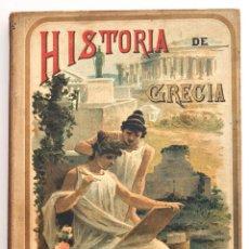 Alte Bücher - HISTORIA DE GRECIA. D. ROQUE GÁLVEZ Y ENCINAR. MADRID, CALLEJA, 1894 - 43477125