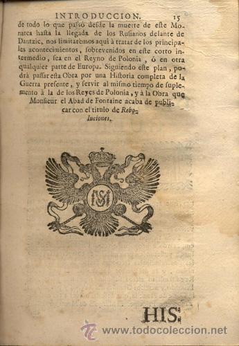 Libros antiguos: HISTORIA DE LA ÚLTIMA GUERRA – AÑO 1738 - Foto 5 - 43581332