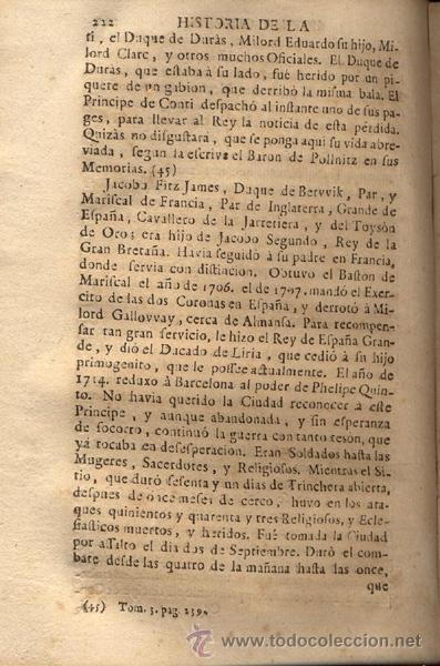 Libros antiguos: HISTORIA DE LA ÚLTIMA GUERRA – AÑO 1738 - Foto 7 - 43581332