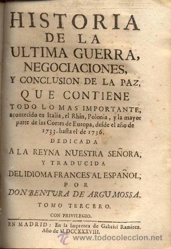 Libros antiguos: HISTORIA DE LA ÚLTIMA GUERRA – AÑO 1738 - Foto 10 - 43581332