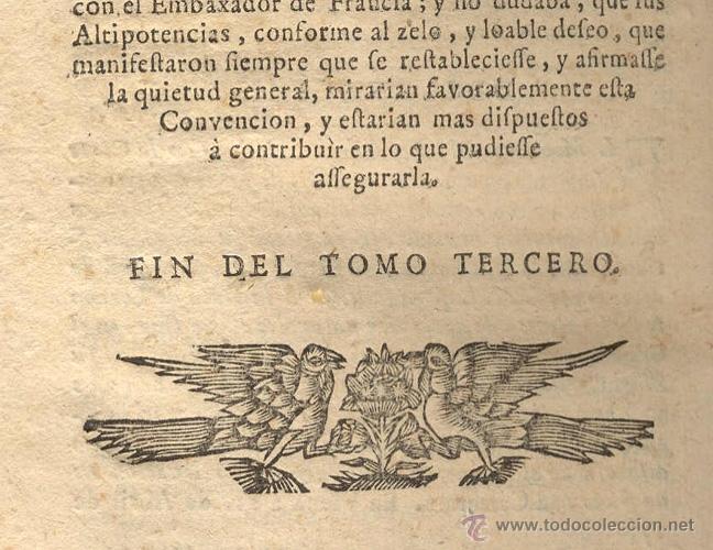 Libros antiguos: HISTORIA DE LA ÚLTIMA GUERRA – AÑO 1738 - Foto 11 - 43581332