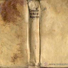 Alte Bücher - DE ROMANA REPUBLICA – AÑO 1759 - 43595689