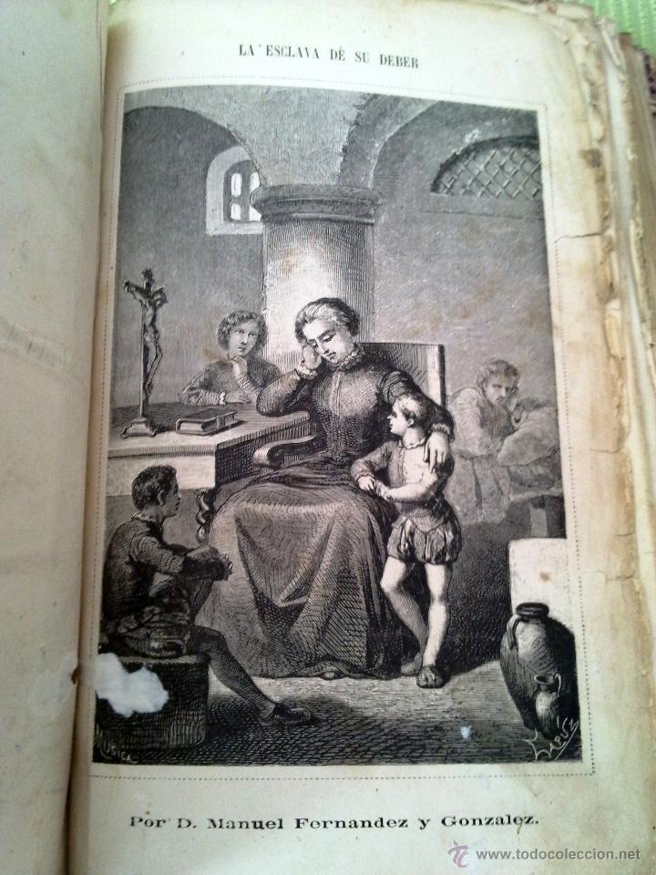 Libros antiguos: LIBRO ANTIGUO LA ESCLAVA DE SU DEBER 1865 manuel fernandez gonzalez - Foto 4 - 43844013