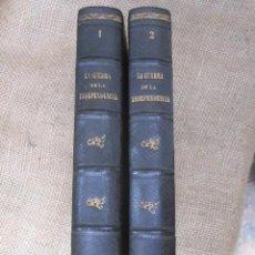Libros antiguos: HISTORIA DE LA GUERRA DE LA INDEPENDENCIA EN EL ANTIGUO PRINCIPADO. TOMOS I-II - ROCA Y CORNET 1861. Lote 43884226