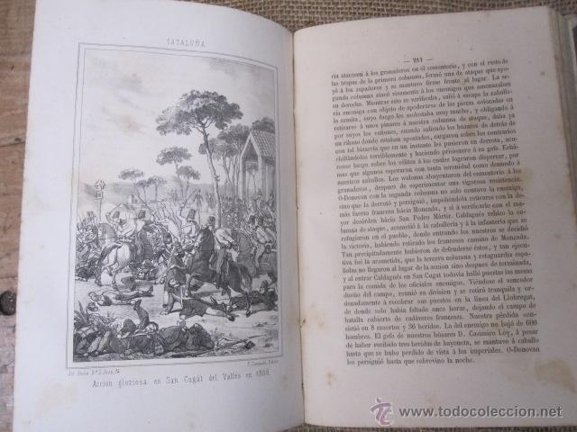 Libros antiguos: HISTORIA DE LA GUERRA DE LA INDEPENDENCIA EN EL ANTIGUO PRINCIPADO. TOMOS I-II - ROCA Y CORNET 1861 - Foto 4 - 43884226