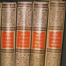 Libros antiguos: AMERICA -COROLEU - 4 TOMOS. Lote 43911148