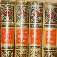 Old books - TRADICIONES PERUANAS - RICARDO DEPALMA - 4 TOMOS - 43911349
