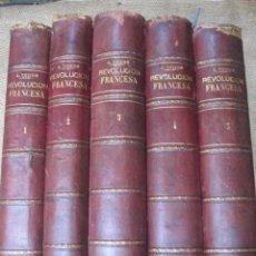 Libros antiguos: HISTORIA DE LA REVOLUCION FRANCESA Y HISTORIA DEL CONSULADO Y DEL IMPERIO. 1876-1879. MONTANER 1890. Lote 43913896