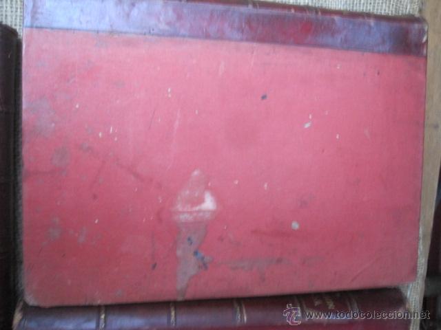 Libros antiguos: Cubierta anterior tomo I - Foto 7 - 43913896