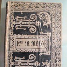 Libros antiguos: SEPARACIÓN Y GUERRA DE CATALUÑA EN TIEMPO DE FELIPE IV. Lote 43935462