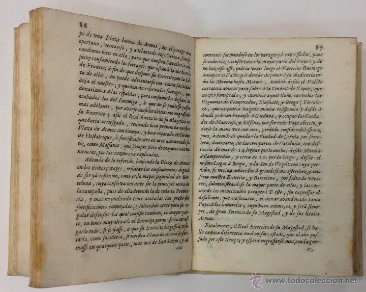 Libros antiguos: MANIFESTACION, EN QUE SE PUBLICAN MUCHOS RELEVANTES SERVICIOS Y NOBLES HECHOS, CIUDAD DE BARCELONA. - Foto 5 - 43991465