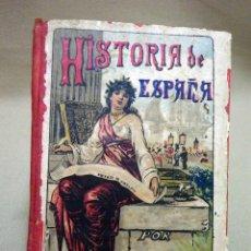 Libros antiguos: LIBRO, LA HISTORIA DE ESPAÑA, S. CALLEJA, 178 PAGINAS. Lote 43991779