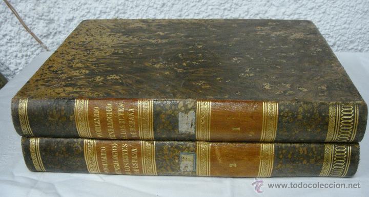 NOBILIARIO GENEALÓGICO DE LOS REYES DE ESPAÑA. MADRID - 1622. DESPLEGABLE DEL MARQUES DE CAÑETE (Libros antiguos (hasta 1936), raros y curiosos - Historia Antigua)