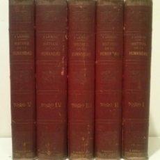 Libros antiguos: HISTORIA DE LA HUMANIDAD - F. LAURENT - GANTE 1º. JULIO 1861 - 5 TOMOS . Lote 44065576