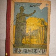 Libros antiguos: HISTORIA DE GRECIA. Lote 44339954