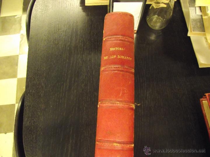 Libros antiguos: HISTORIA DE LOS ROMANOS, VÍCTOR DURUY - Foto 2 - 44759402