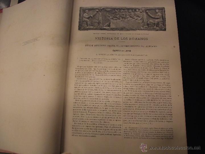 Libros antiguos: HISTORIA DE LOS ROMANOS, VÍCTOR DURUY - Foto 4 - 44759402