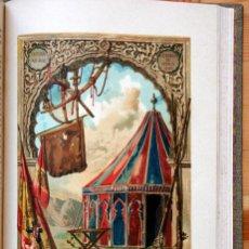 Libros antiguos: HISTORIA ESPAÑA - LAFUENTE - TOMO 23 - AFRICA - CATALUÑA - LAMINAS COLOR. Lote 45239830