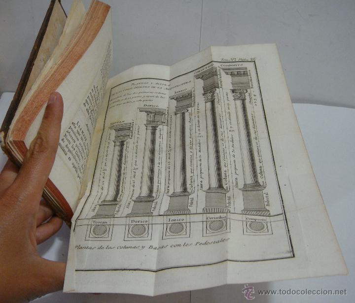 Libros antiguos: Tomo VI. Rollin Abreviado o Compendio de la Historia Antigua 1745. Con Laminas en el interior. - Foto 3 - 45268089
