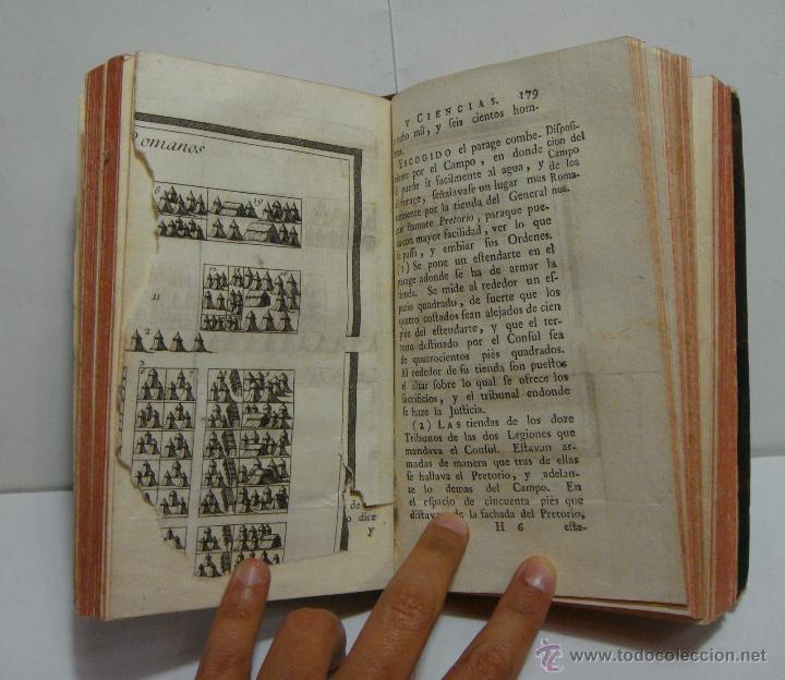 Libros antiguos: Tomo VI. Rollin Abreviado o Compendio de la Historia Antigua 1745. Con Laminas en el interior. - Foto 4 - 45268089