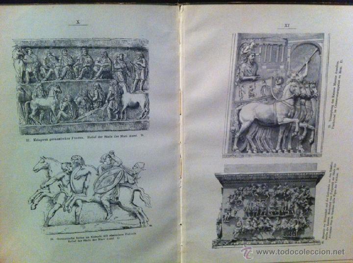 Libros antiguos: Bilder-Atlas- GUERRA GALIAS. JULIO CESAR. GRABADOS. 1907 - Foto 3 - 45370551