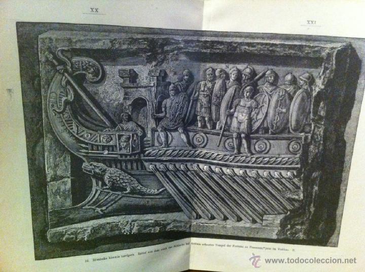 Libros antiguos: Bilder-Atlas- GUERRA GALIAS. JULIO CESAR. GRABADOS. 1907 - Foto 4 - 45370551