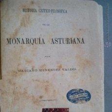 Alte Bücher - Asturias,Menéndez Valdés,Estudios Monarquía Asturiana,Oviedo,Gijón,original,ver las fotos - 45440789