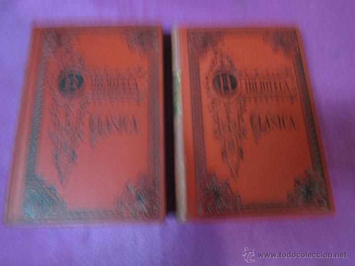 OBRAS COMPLETAS DE HORACIO 2 TOMOS BIBLIOTECA CLASICA AÑO 1909 .E12 (Libros antiguos (hasta 1936), raros y curiosos - Historia Antigua)