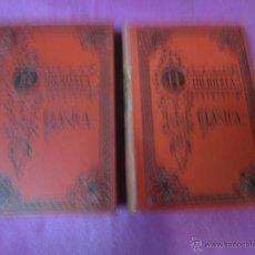 Libros antiguos: OBRAS COMPLETAS DE HORACIO 2 TOMOS COMPLETA BIBLIOTECA CLASICA 1909.. Lote 46195199