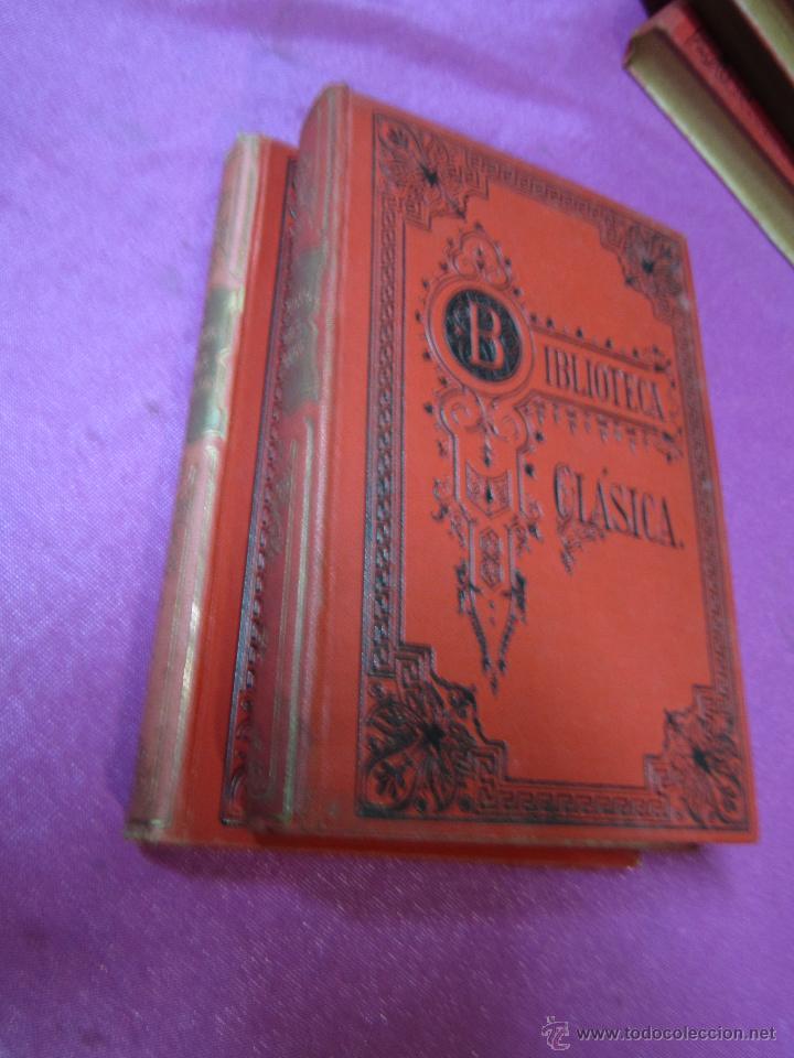 Libros antiguos: OBRAS COMPLETAS DE HORACIO 2 TOMOS BIBLIOTECA CLASICA AÑO 1909 .E12 - Foto 2 - 46195199